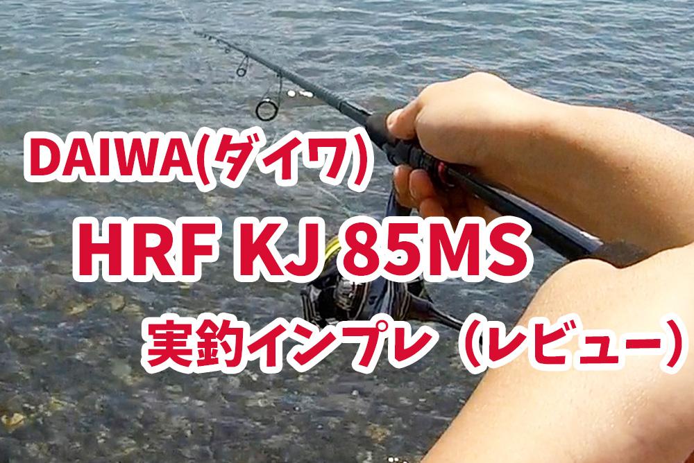 Daiwa(ダイワ)HRF KJ 85MS 実釣インプレ(レビュー)キジハタ(アコウ)専用おすすめロッド